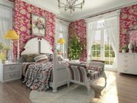 Condo Living Room 138 3D Model