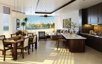 Condo Living Room 141 3D Model
