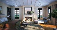 Condo Living Room 142 3D Model