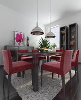 Condo Living Room 146 3D Model
