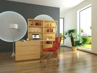 Condo Living Room 147 3D Model