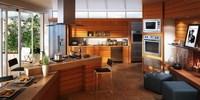 Condo Living Room 150 3D Model