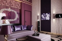 Condo Living Room 155 3D Model