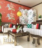 Condo Living Room 158 3D Model