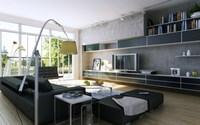 Condo Living Room 159 3D Model