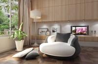 Condo Living Room 161 3D Model