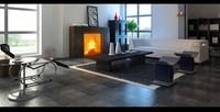Condo Living Room 169 3D Model