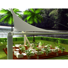 Tensile structure 2 / Estructura tensada 2 3D Model