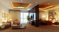 Condo Living Room 168 3D Model