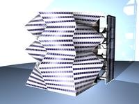 Draft Art School / 3DMAX and REVIT 3D Model