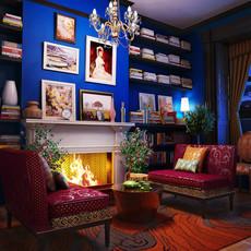 Condo Living Room 171 3D Model