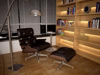 Condo Living Room 173 3D Model