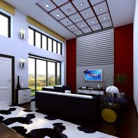 Condo Living Room 177 3D Model