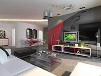 Condo Living Room 179 3D Model