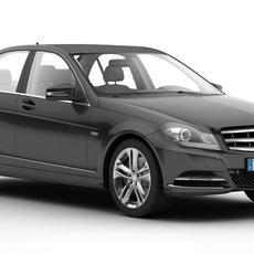 Mercedes C Class 2012 3D Model