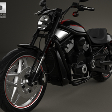 Harley-Davidson Night Rod Special 2013 3D Model