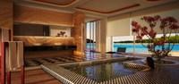 Condo Living Room 189 3D Model