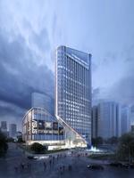 3D  Building 063 3D Model