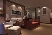 Condo Living Room 192 3D Model