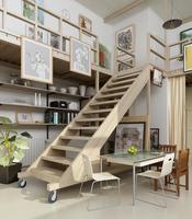 Condo Living Room 193 3D Model