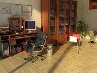 Condo Living Room 195 3D Model