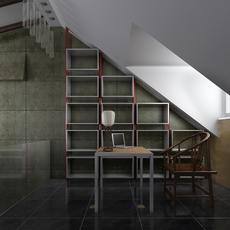 Condo Living Room 196 3D Model