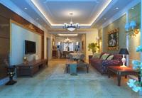 Condo Living Room 197 3D Model