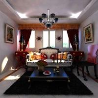 Condo Living Room 198 3D Model