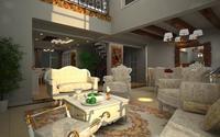 Condo Living Room 199 3D Model