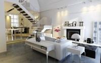 Condo Living Room 201 3D Model