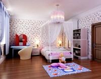 Condo Living Room 202 3D Model