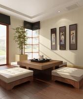 Condo Living Room 204 3D Model