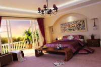 Condo Living Room 205 3D Model