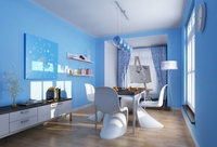 Condo Living Room 211 3D Model