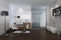 Condo Living Room 214 3D Model