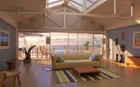 Condo Living Room 216 3D Model
