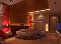 Condo Living Room 219 3D Model