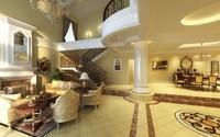Condo Living Room 218 3D Model
