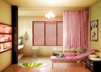 Condo Living Room 221 3D Model