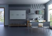 Condo Living Room 222 3D Model