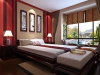 Condo Living Room 223 3D Model
