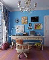 Condo Living Room 226 3D Model