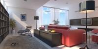 Condo Living Room 227 3D Model