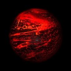 Lava planet 3D Model