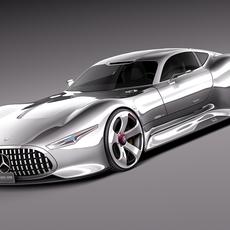 Mercedes-Benz Vision Gran Turismo Concept 3D Model