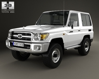 Toyota Land Cruiser (J71) 3-door 2013 3D Model