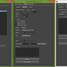 gf_playblastManager for Maya 1.1.0 (maya script)