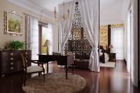 Condo Living Room 234 3D Model