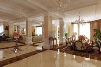 Condo Living Room 237 3D Model