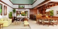 Condo Living Room 239 3D Model